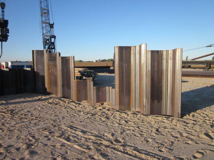 Steel sheet piling - Volker Staal en Funderingen